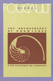 Foucault, Archaeology of Knowledge cover