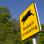 Rabbit Rails sign