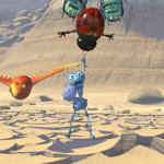 Flik in danger A Bug's Life