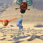 Flik in danger A Bug's Life