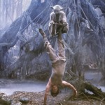 Luke Skywalker trains with Yoda StarWars