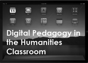 Digital Humanities Course Page, University of South Carolina